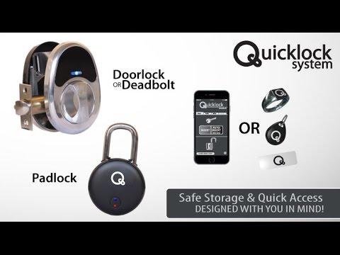lock with doors qduino large mini of under id nfc the door picture