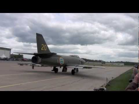 Swedish Airforce Historic Flight