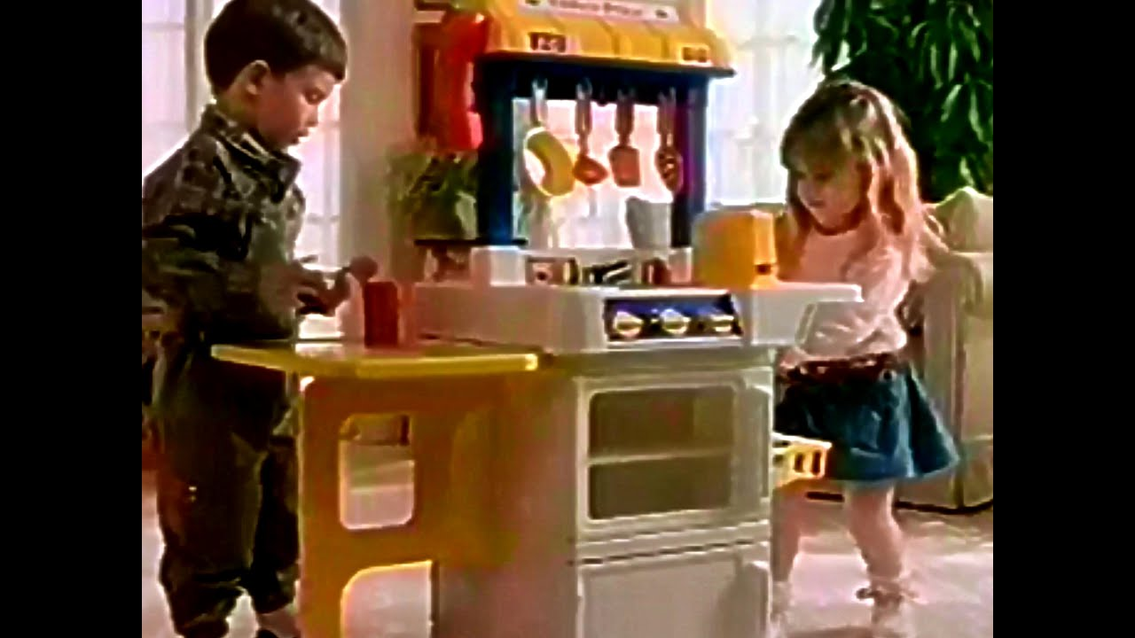 Fisher Price Kitchen Set TV Commercial HD   YouTube
