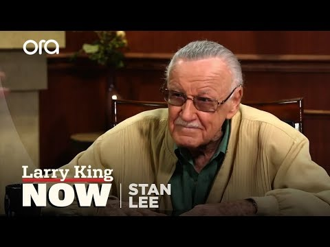 "Stan Lee on ""Larry King Now"" - Full Episode Available in the U.S. on Ora.TV"