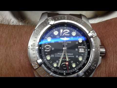 Breitling Steelfish (2007-2012), Black Dial