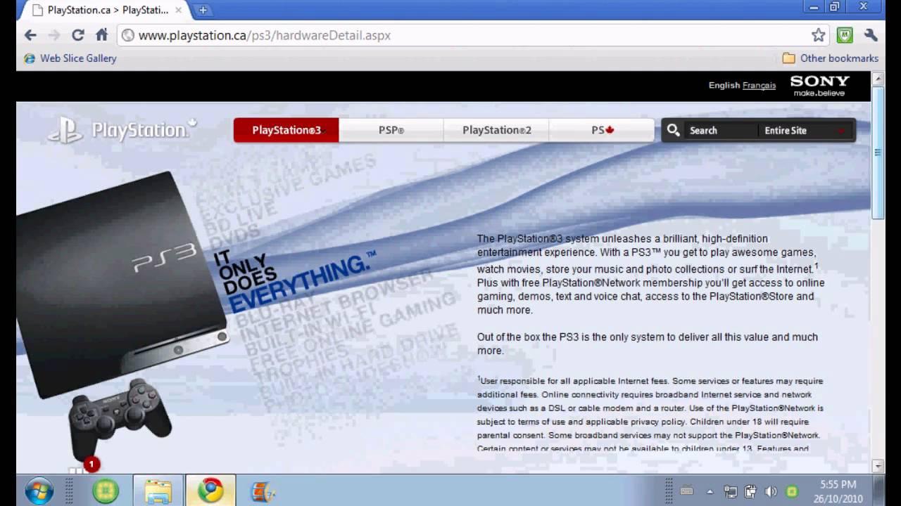 PS3 Update Via Storage Media (Tutorial) - YouTube