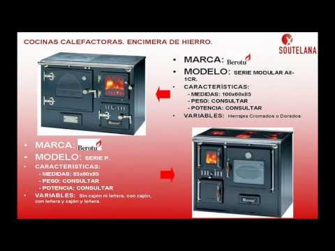 Cocinas calefactoras youtube for Cocinas calefactoras de lena precios