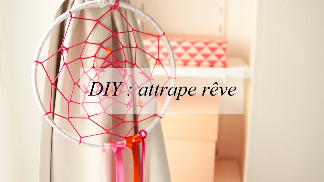 Diy d co un attrape r ve youtube - Diy attrape reve ...
