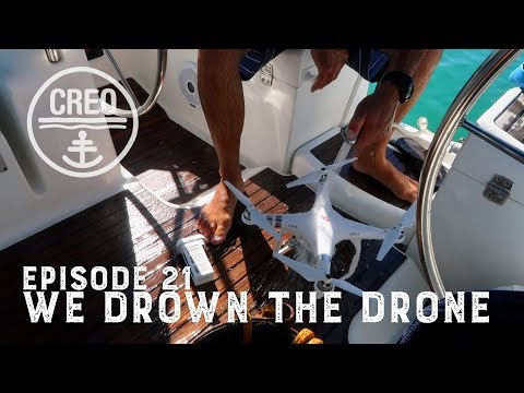 We Drown Our Drone!!! - Ep21