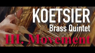KOETSIER - Brass Quintet - Molto vivace - Primebrass [4K]