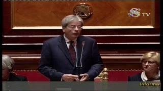 Gentiloni riferisce al Senato sulla Siria (17/04/2018)