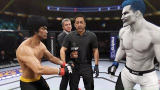 Bruce Lee vs. Hades (EA Sports UFC 2)