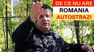 De ce nu are România AUTOSTRĂZI? Priviti!