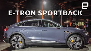 Audi e-eron Sportback: Headlights so advanced, the US banned them