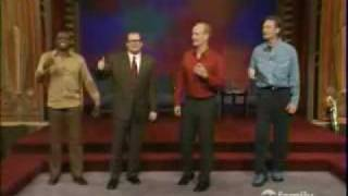 Whose Line Is It Anyway- Irish Drinking Song Mess-up
