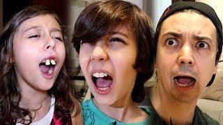 الجميع انصدم من أسنانها!