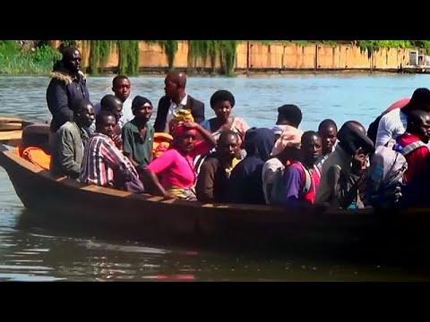 13 قتيلا و142 مفقودا إثر غرق سفينة في بحيرة بجمهورية الكونغو…  - نشر قبل 35 دقيقة