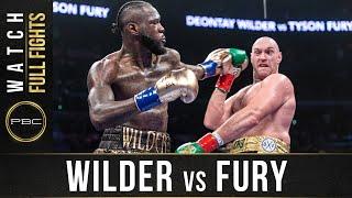 Wilder Vs Fury 1 FULL F GHT PBC On Showtime - December 1 2018