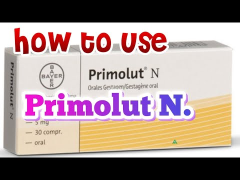 Primolut N How It Works