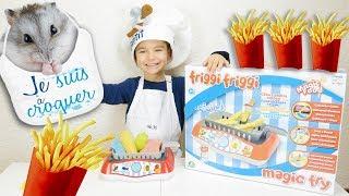 Swan cuisine des Frites pour Nuts avec sa Friteuse  Magique Friggi Friggi Magic Fry