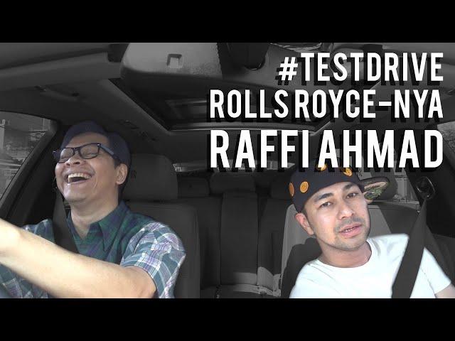 Armand Maulana | #TESTDRIVE ROLLS ROYCE NYA RAFFI AHMAD