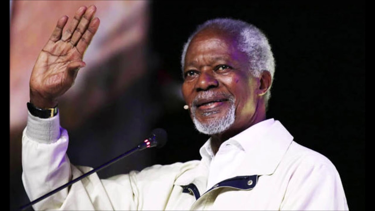 Former UN Secretary General Kofi Annan Dies At Age 80