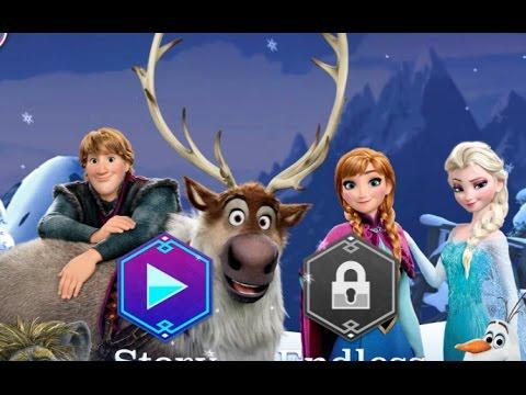Игра Холодное Сердце 2017 Бега (Frozen 2 RUSH)