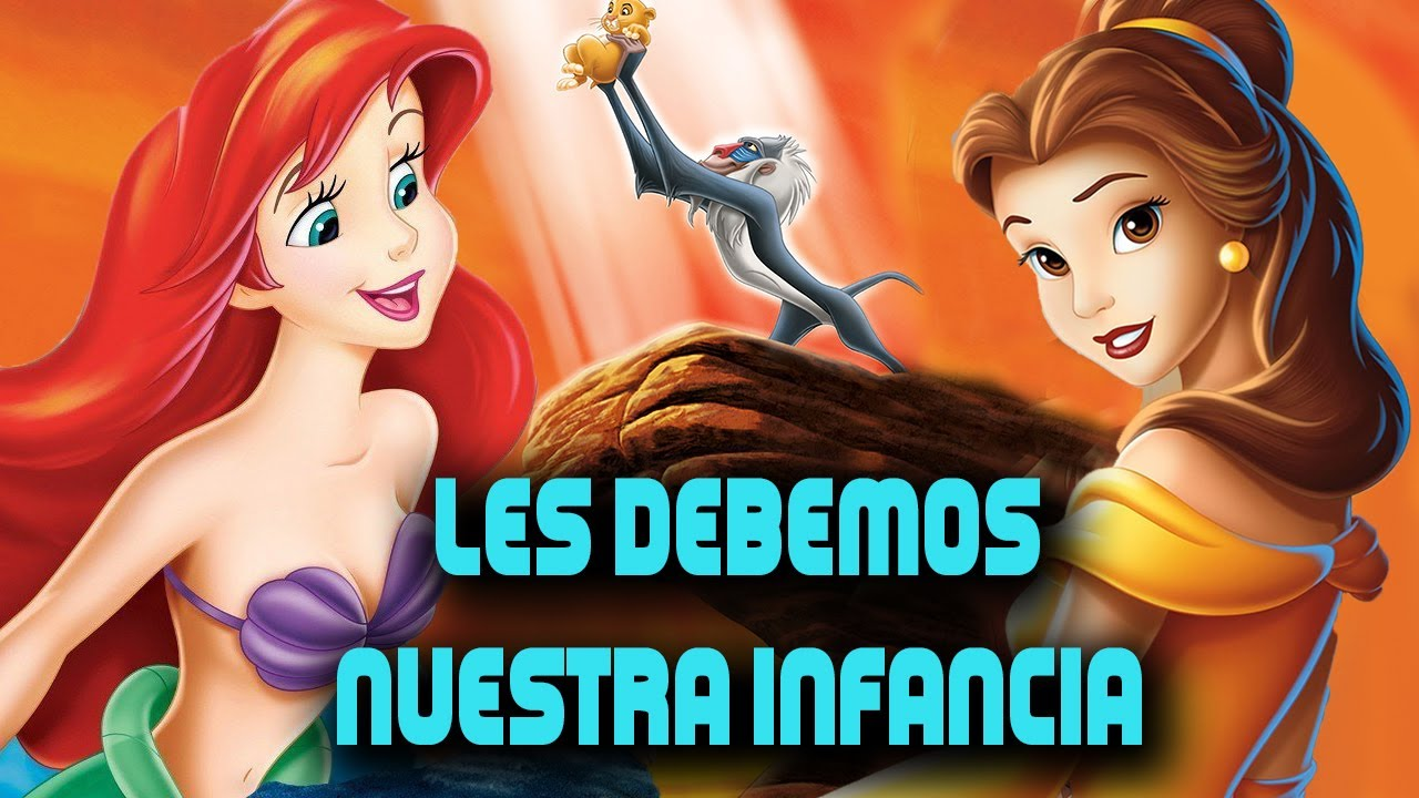 Les DEBEMOS nuestra INFANCIA/Canciones de Disney. #EnCasa