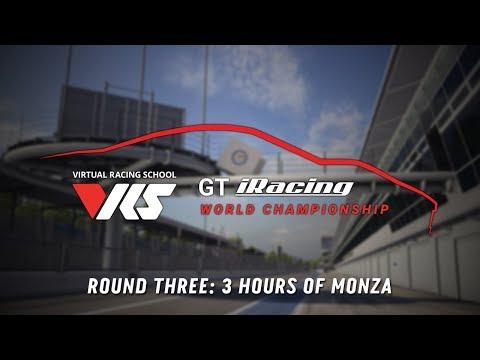 VRS GT iRacing Series | 3 Hours of Monza