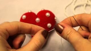 Декоративные сердечки своими руками