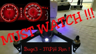 MJX BUGS 3 2s vs 3s top speed MPH