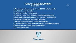 Fundur bæjarstjórnar 4. maí 2021