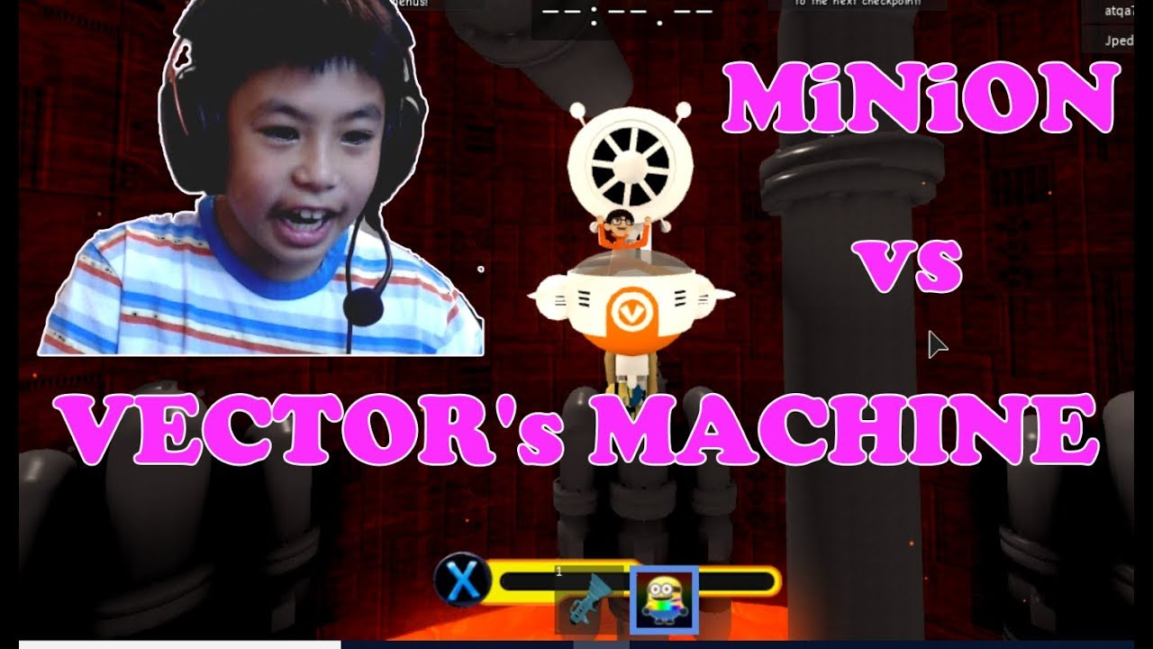 Roblox Minion Obby Minion Adventure Obby Defeating Vector S Machine Ben Toys And Games Family Friendly Gaming And Entertainment
