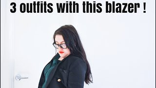 How to style a Blazer | Elegance Of She