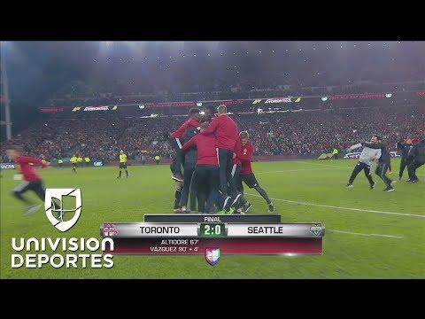 ¡La emoción de ser campeón! Toronto FC MLS Cup 2017