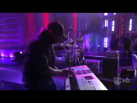 Mike Posner - Cooler Than Me LIVE at  Lopez Tonight TV HQ