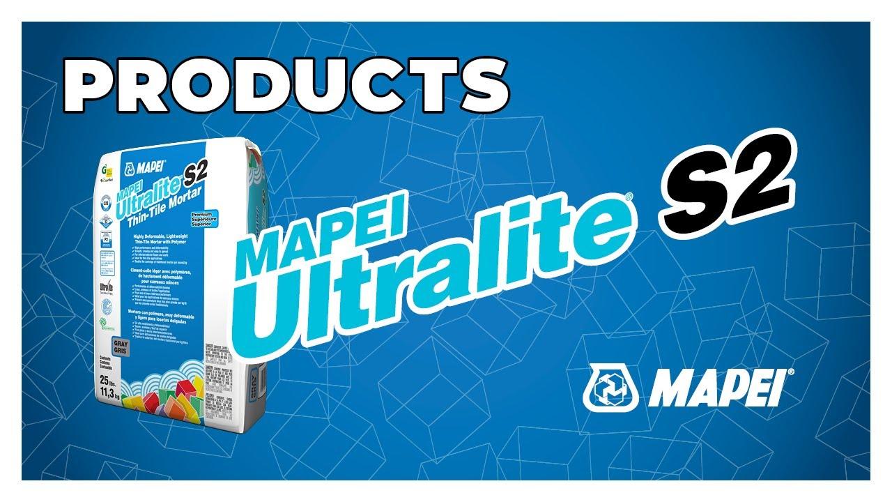 mapei ultralite s2 thin tile mortar