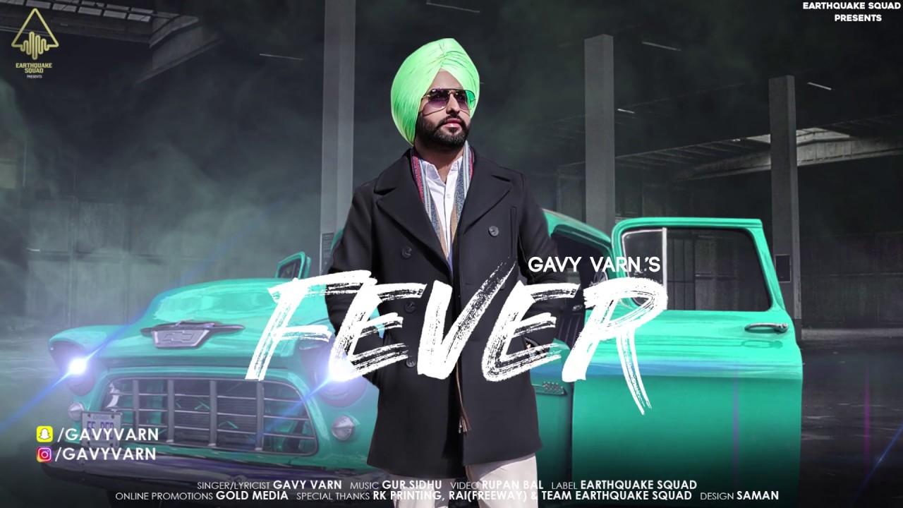 FEVER (Motion Poster) GAVY VARN |RUPAN BAL | GUR SIDHU | LATEST PUNJABI SONGS 2018 #1