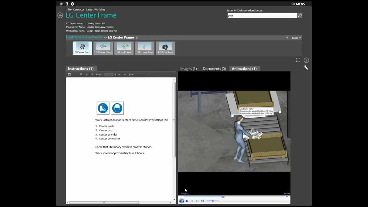 Electronic Work Instructions Ewi Solution On Teamcenter Youtube