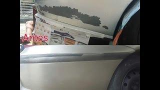 Como pintar o carro em casa com 20 reais