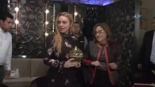 Lindsay Lohan Gaziantep'e Hayran Kaldı