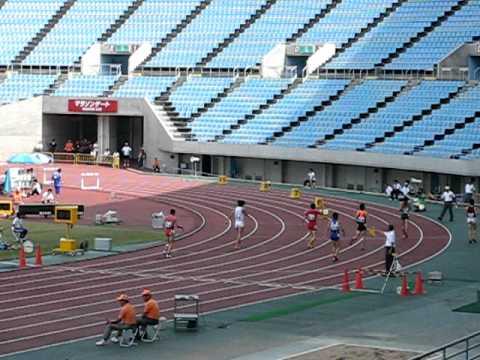 20110626 大阪陸上競技選手権 男子特別レース 400mH