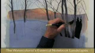 Preview | The Watercolorist Essential Notebook: Landscapes with Gordon Mackenzie