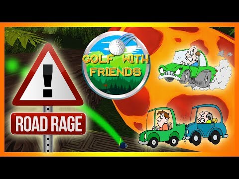 ROAD RAGE BROUGHT TO YOU BY FIAT!!!! (Golf with YOUR Friends)