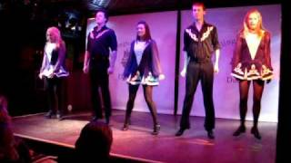 Dança fogo pés irlandesa de