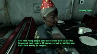 Fallout 3 - Maniac Grandma at your Birthday Party