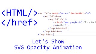 Let's Show #107 - HTML Tutorial - SVG Opacity Animation | JavaScript | CSS