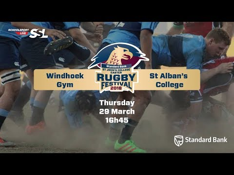 St John's Rugby Festival 2018 - Windhoek Gym vs St Alban's College, 29 March