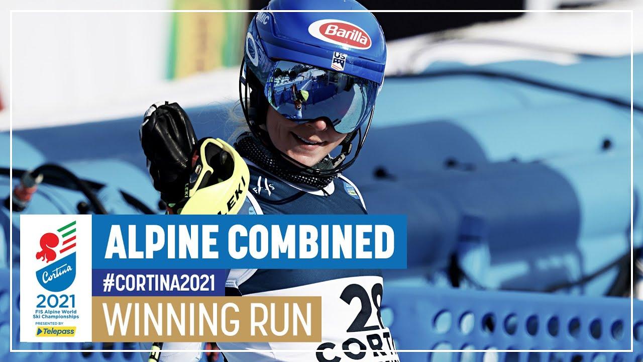 Mikaela Shiffrin Wins Gold in the Alpine Combined