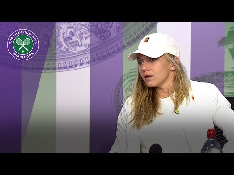 Simona Halep 3R Press Conference