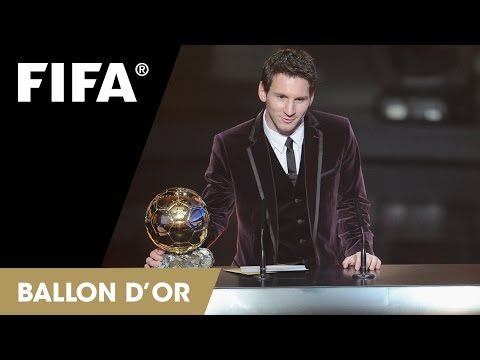 Stars shine bright at Ballon d'Or