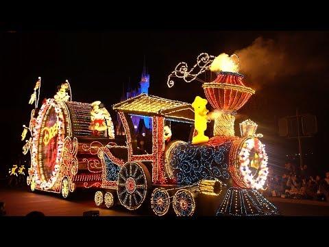 4K Tokyo Disneyland Electrical Parade Dreamlights Christmas 2017