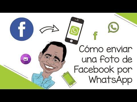 Enviar Imágenes De Facebook Por Whatsapp Android - Iphone