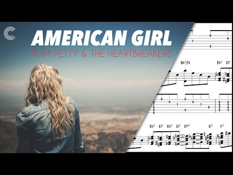 Alto Sax- American Girl - Tom Petty and the Heartbreakers - Sheet Music, Chords, & Vocals